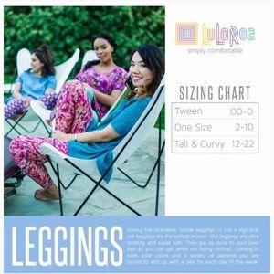 LuLaRoe Bottoms - NEW Lularoe Tween Leggings